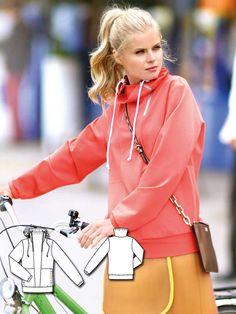 High Collar Sweatshirt 02/2016 #121 http://www.burdastyle.com/pattern_store/patterns/high-collar-sweatshirt-022016?utm_source=burdastyle.com&utm_medium=referral&utm_campaign=bs-tta-bl-160118-SportyChic121