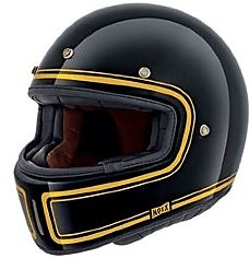 Nexx XG100 Devon retro del casco senza visiera o di picco