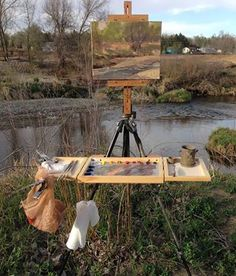 Marc R. Hanson's photo. I use this plein air setup custom made by Marc & love it. Highly recommend to you fellow artists!