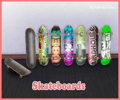 Skateboards   Nathalia Sims