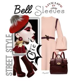 """""""Street Style Trend: Bell Sleeves"""" by ragnh-mjos ❤ liked on Polyvore featuring Roksanda, Eugenia Kim, Miu Miu, Mulberry and TOKYObay"""