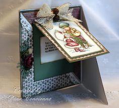Dena's Stamping Corner----some interesting card shapes on this blog