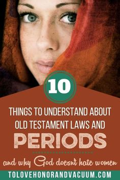 "As Christians, a lot of the cultural ideas that we get about our periods derive from Old Testament laws that called periods ""unclean."" Why did God call periods unclean? Why were women unclean after having babies? What does this tell us about how God sees women's bodies? Does God think we're gross? Does He consider us ""unclean"" more than men are unclean? Should women feel shame? #womenshealth #oldtestament #biblicalteaching #tolovehonorandvacuum Intimacy In Marriage, Biblical Marriage, Marriage Advice, Old Testament Bible, Low Libido, Love You Husband, Christian Marriage, Christians, Things To Know"