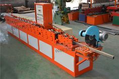 #Automatic #Shaped #metal #plate #roll #forming #machine  is made of metal thick plate as raw material, and is hardened by hardening and hardening roller. It is shaped like W-type, C-type, freight car board, high speed guard rail, , A few words steel, closed steel, lace door frames, seamless steel tubes, pottery heart shaped column, and so on.
