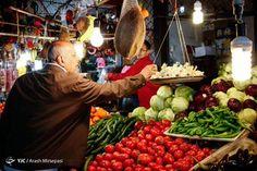 Mahmudabad Local Market, Mazandaran province, Iran.