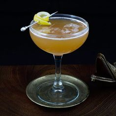 Champs Elysees: Brandy, Chartreuse, Lemon Juice, Simple Syrup, Angostura Bitters