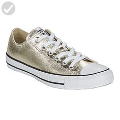 f7bd39fab79 Converse Womens Ctas Metallics Ox Trainers Beige Size 40 - All about women  ( Amazon Partner-Link)