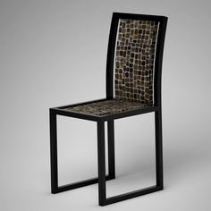 Ivory Vegetal Design Chair_ Random Toasted