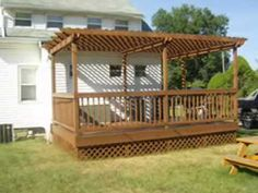 Sheds I want to build a deck and pergola Have you recently completed a DIY project or room makeover After you ve looked at these free pergola