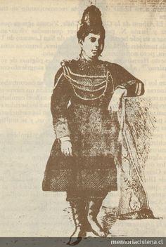 Cantineras Clara Casados y Eloísa Poppe, ambas cantineras del Regimiento Chacabuco 6° de Línea murieron en el Combate de La Concepción