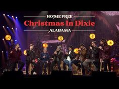 Home Free - Christmas in Dixie ft. Alabama LIVE - YouTube Home Free Music, Free Music Video, Home Free Vocal Band, Music Videos, Home Free Christmas, Country Christmas Music, Country Music, Christmas Decor, Merry Christmas