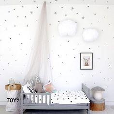 Love grey for a kids room