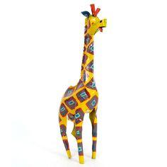 Painted Tin Giraffe