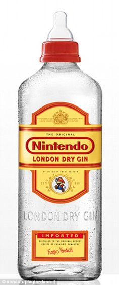 Nintendo Dry Gin