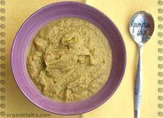 Raw pumpkin recipes: Pumpkin soup / sauce / dip | organictalks.com