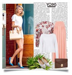 """""""Yoins"""" by fashion-all-around ❤ liked on Polyvore"""