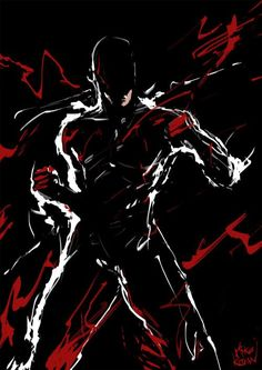 Daredevil by Mike Kevan #Netflix