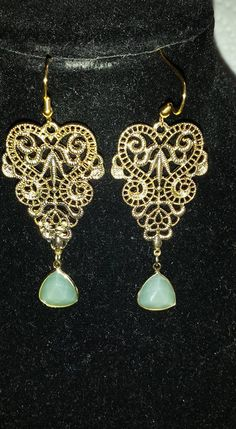 Filigree Earrings $10.00