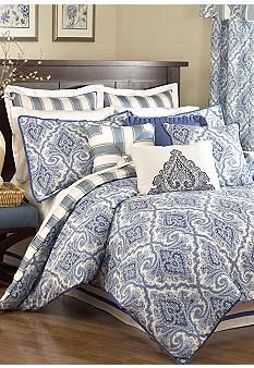 Waverly® Anatalya Bedding Collection, love it! Room Design Bedroom, Blue Bedroom Decor, Bedroom Bed, Dream Bedroom, Master Bedroom, Bedroom Ideas, Bedrooms, Best Bedding Sets, Duvet Sets