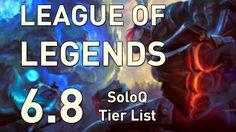 lolgui.blogspot.com: League of Legends - 6.8 SoloQ Tier List