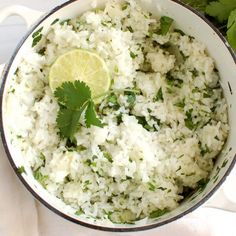 Spanish White Rice Recipe, Mexican Lime Rice Recipe, Chipotle White Rice Recipe, Mexican White Rice, Chipotle Rice Recipes, White Rice Recipes, Easy Rice Recipes, Side Dish Recipes, Mexican Food Recipes