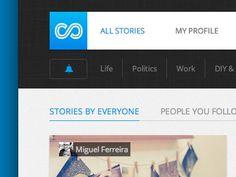 ui design / All new storylane