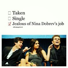 This is true with like, every fandom I have tho. Always jealous of someone.-The Vampire Diaries Serie The Vampire Diaries, Vampire Diaries Damon, Vampire Diaries Quotes, Vampire Diaries The Originals, Vampire Diaries Season 5, Damon Salvatore, Ver Series Online Gratis, Vampire Daries, Cw Series