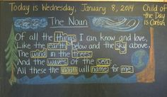 poetry for third grade waldorf - Google Search