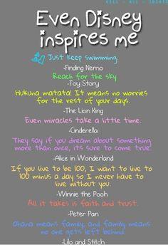 When Disney inspires me...