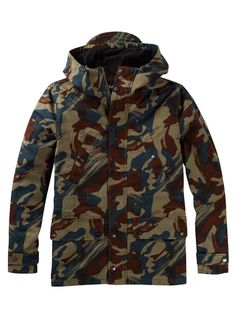 Lyle and Scott Camo Mountain Parka