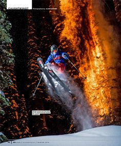 Summer's too hot? Think skiing.