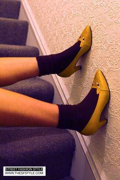 Omg! Kitten heels!!!- via thesfstyle.com