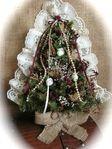 Mobile LiveInternet Sacking, yute, partituras y encajes. Artesanía de Navidad | Marrietta - La inspiración de Marrietta |