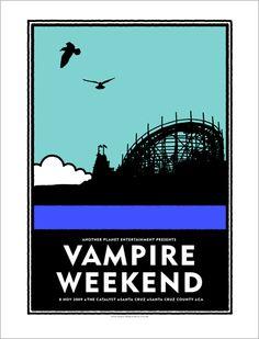 Vampire Weekend, Santa Cruz.