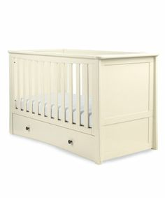 Mothercare Harrogate Cot Bed - Almond - cot beds - Mothercare