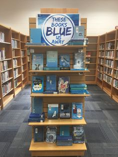 School Library Decor, School Library Displays, Middle School Libraries, College Library, Library Signage, Library Programs, Library Science, Library Activities, Library Inspiration