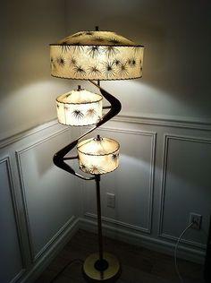 Vintage Majestic Z Floor Lamp