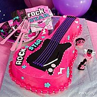 Rock Star Diva Cake | Rocker Girl Party Ideas Guide - Party City