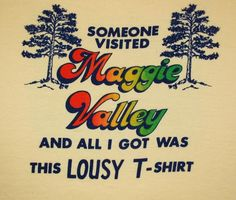 Tag: Textile Prints Era: - early Fabric: Size reads: Extra Large, fits like modern Large Measures: 21 inches across the ches Maggie Valley North Carolina, Yellow T Shirt, Vacation Shirts, Textile Prints, Vintage Tees, Graphic Illustration, Printed Shirts, Rainbow, Fabric