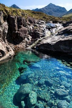 Fairy Pool, Isle of Skye, Scotland