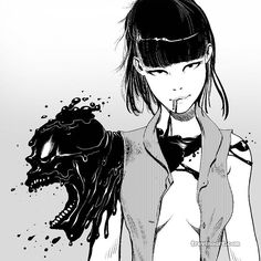 Here is the illustration from the previous video post. #comics #manga #blackandwhite #digitalart #ink http://ift.tt/2ihheXN
