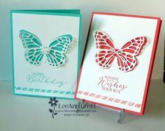 Elegant Butterfly Basics card & video