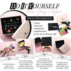 Wo bewahrt ihre eure Ringe auf? Ab jetzt vielleicht in dieser DIY-Ringbox!