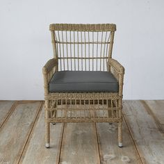 Trellis Weave All Weather Wicker Dining Chair in Outdoor Living All Weather Wicker at Terrain