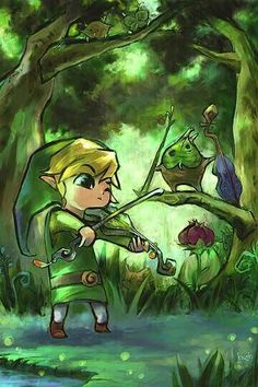 Link and Makar! They're both so precious!!!