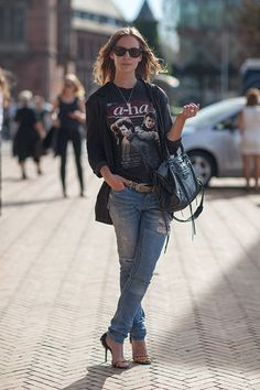#copenhagen #StreetStyle pinned by @nordicstylemag.