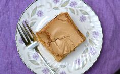 Gâteau à la cassonade de Charlotte – Catherine Cuisine Canadian Cuisine, Peanut Butter, Sweets, Sugar, Charlotte, Recipes, Food, Squares, Meringue Cake