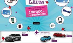 Gewinne mit Conforama gleich 3×1 Auto. Zu gewinnen gibt es einen Renaut Espace im Wert von CHF 46'800.- , einen Renault Captur im Wert von CHF 25'850.- , einen Renault Clio im Wert von CHF 22'450.- sowie einen 4K OLED TV, ein iPhone, eine Drohne und weitere Preise im Gesamtwert von CHF 200'000.-.  https://www.alle-schweizer-wettbewerbe.ch/gewinne-3x1-renault-und-mehr/