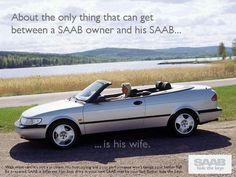 """The Last Interesting Car"" The 1997 Saab 900ng Cabriolet Print Advertisement saabusa.com"