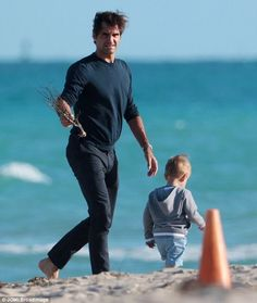 Roger and son